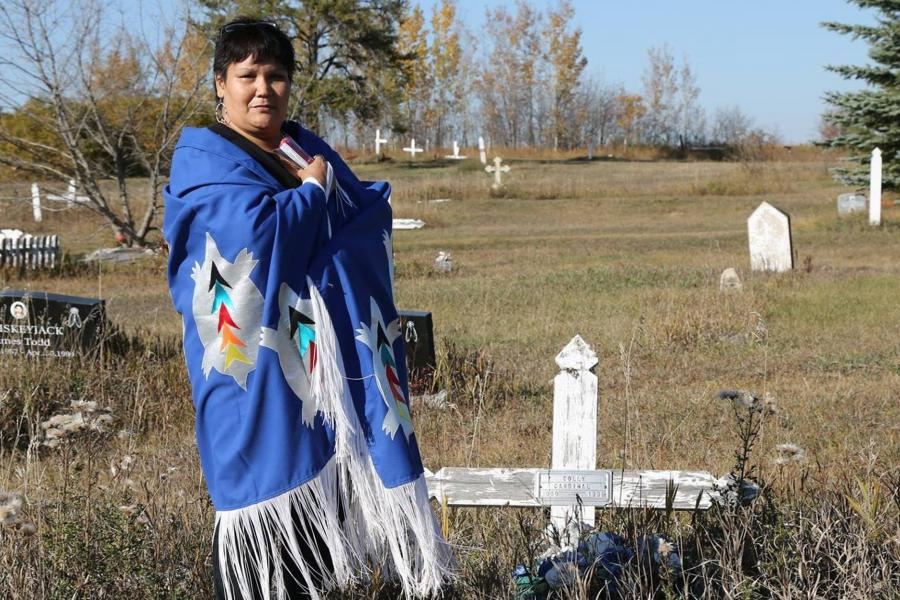 Colleen Cardinal Cree Indigenous rights activist 60s Scoop survivor