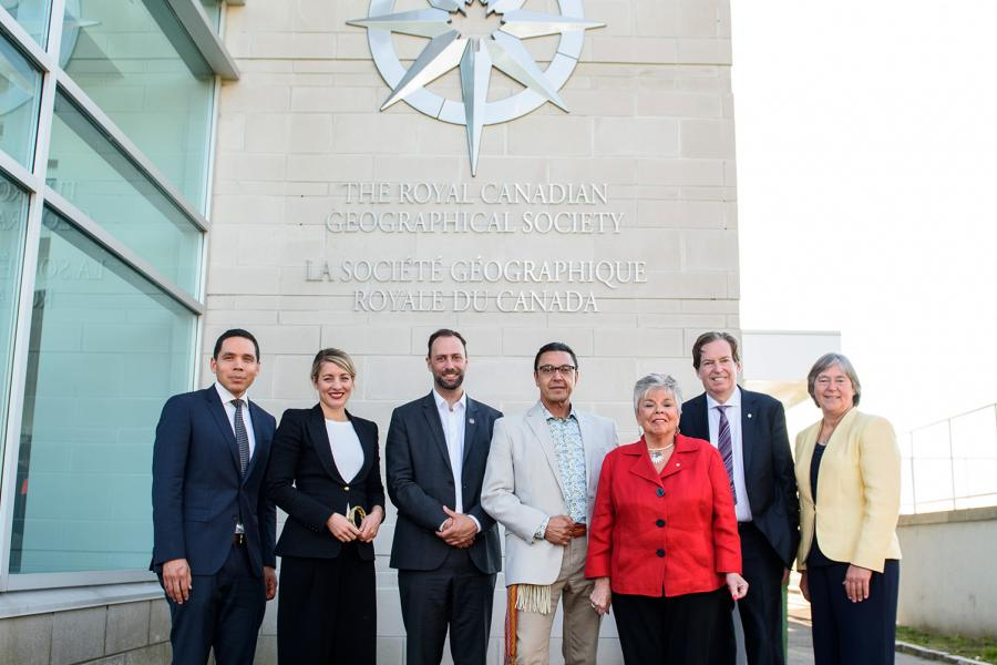 Indigenous Peoples Atlas of Canada, RCGS, 50 Sussex Dr., Mélanie Joly, Minister of Canadian Heritage, Inuit, First Nations, Métis