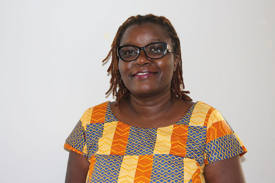 Jemimah Njuki, a food-security expert with IDRC
