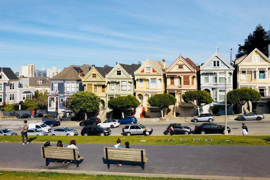 San Francisco's iconic Painted Ladies