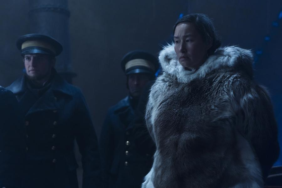 Nive Nielsen as Lady Silence in Episode 4 of The Terror (Photo: Aidan Monaghan/AMC)