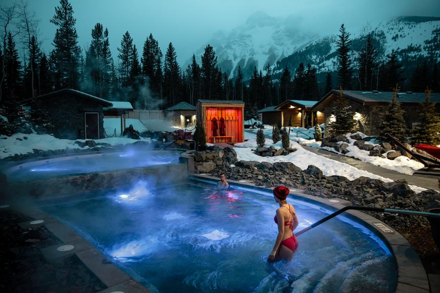 Surrounded by snow-capped peaks, the new Kananaskis Nordic Spa is the perfect place to partake of a longstanding mountain tradition