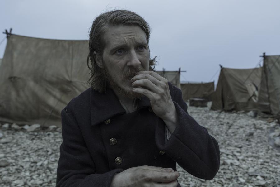 Whatever could the devilish — and quite possibly deranged — Cornelius Hickey (played by Adam Nagaitis) be eating on King William Island in Episode 9 of The Terror?