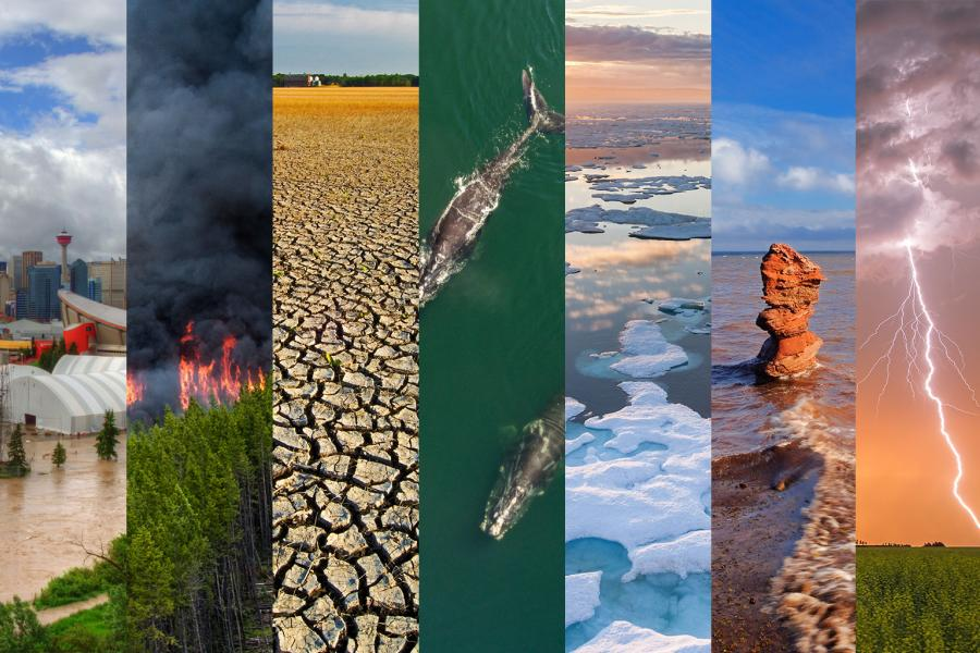 climate change landscapes across canada
