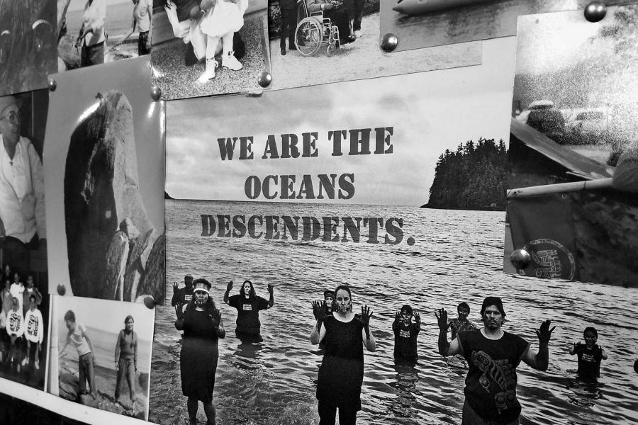 We are the oceans descendents