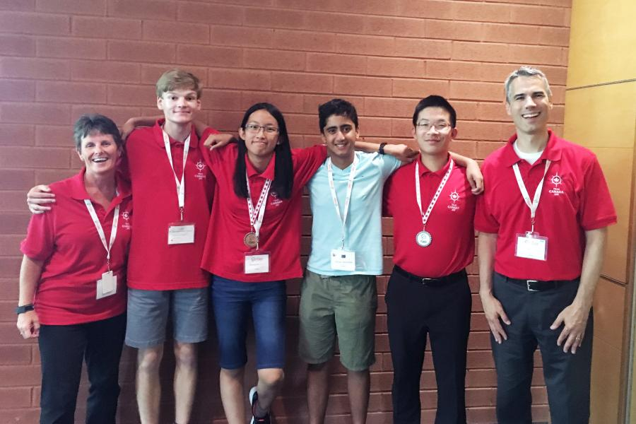 Team Canada International Geography Olympiad 2018