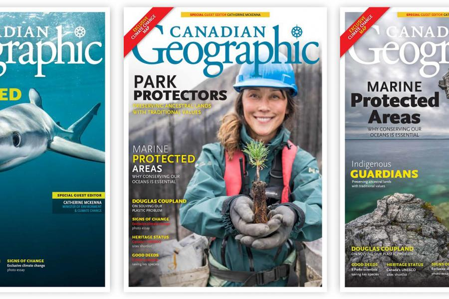 Canadian Geographic November/December 2018 issue