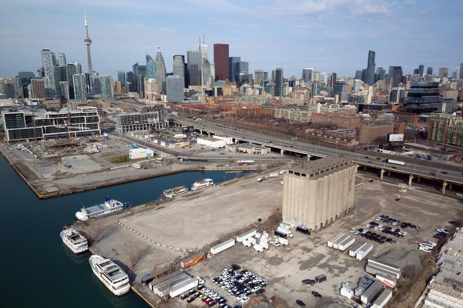 Toronto eastern waterfront