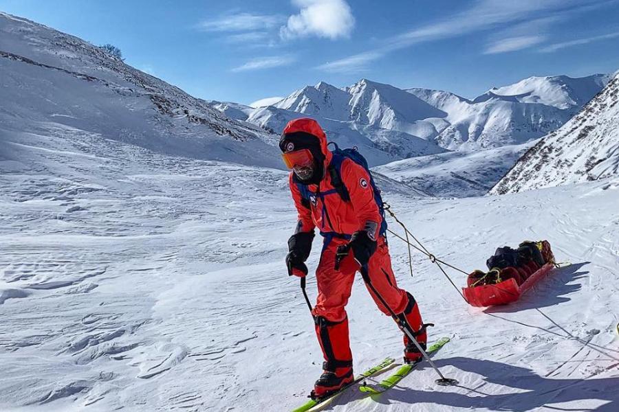 RCGS Explorer-in-Residence Ray Zahab in Kamchatka