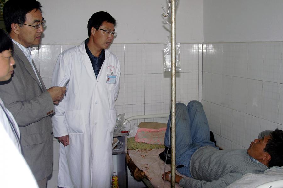 Photo: Chinese Center for Disease Control and Prevention