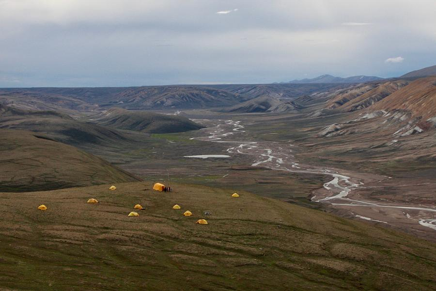 Researchers from the international PoLAR-FIT team are revealing a four-million-year-old forest beautifully preserved in permafrost and peat on Nunavut's Ellesmere Island