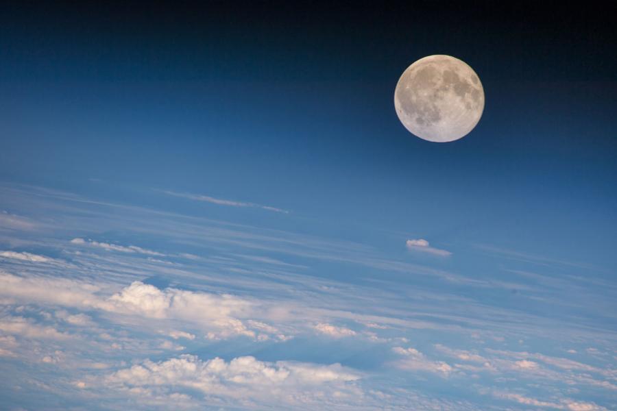 moon lunar space