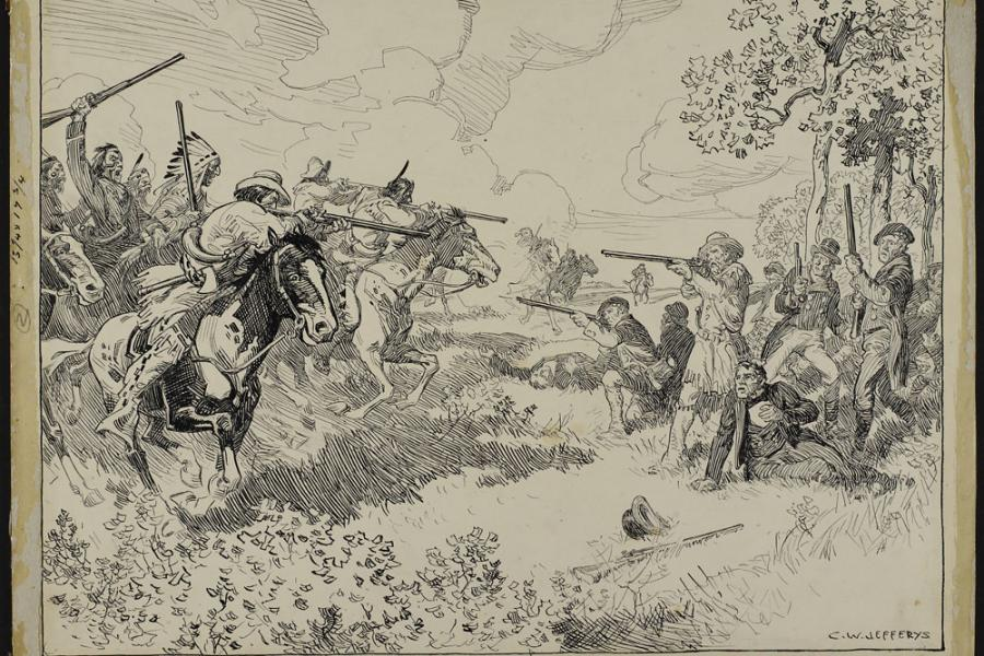 The Battle of Seven Oaks