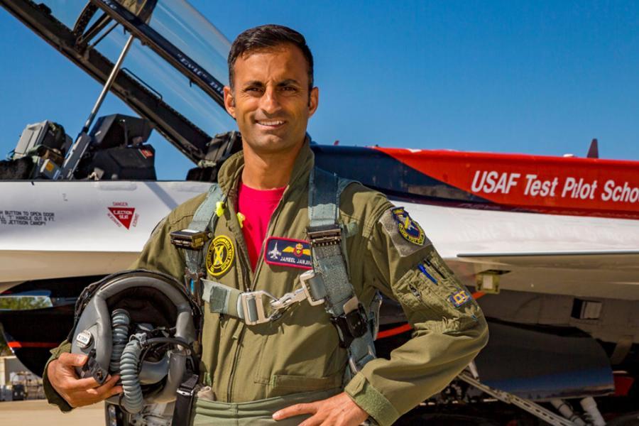 Jameel Janjua Virgin Galactic pilot