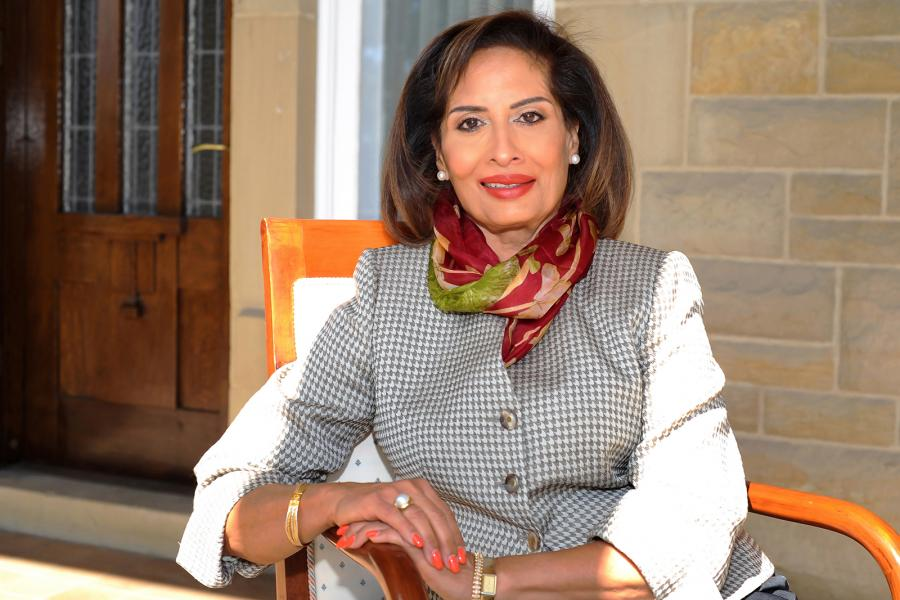 Her Honour, the Honourable Salma Lakhani, Lieutenant Governor of Alberta