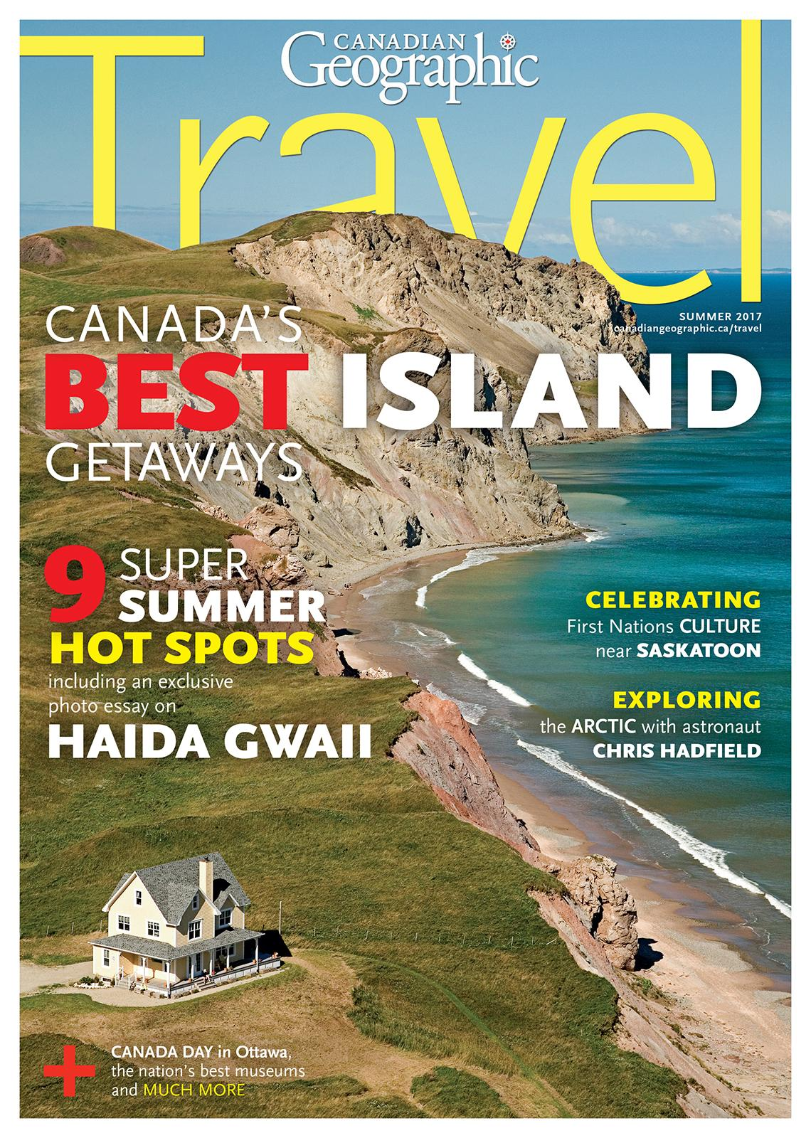 Canadian geographic travel canada 39 s best island getaways for French country magazine online