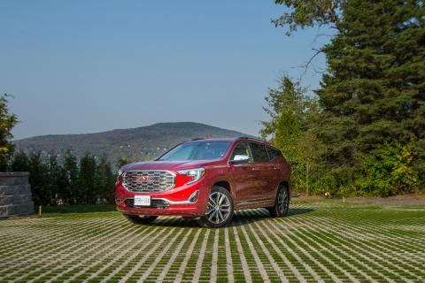 The 2018 GMC Terrain in Lac Beauport, Que.