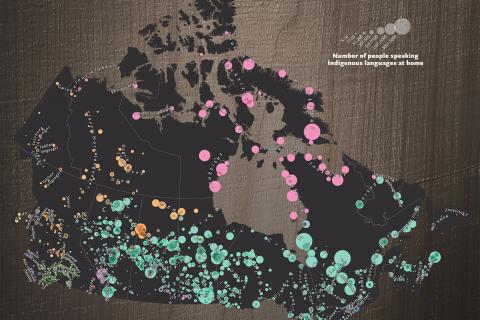 Mapping Indigenous languages in Canada
