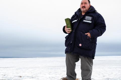 Louie Kamookak, obituary, Gjoa Haven, Nunavut, Franklin expedition