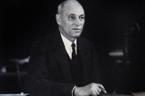 RCGS founder Charles Camsell