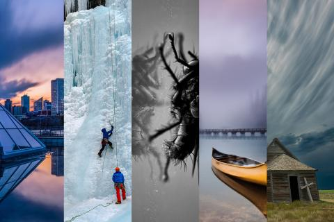 Vertical samples of the winning images of Canadian Geographic's Annual Photo Competition