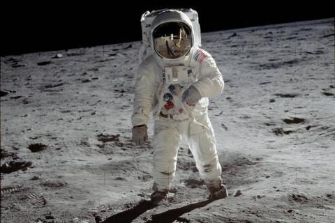 Buzz Aldrin Apollo 11 moon landing