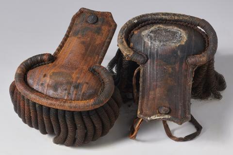 Franklin expedition epaulettes
