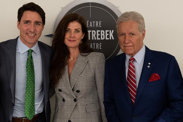 Trudeau and the Trebeks
