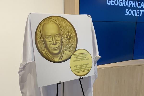 Gilles Gagnier Medal for Innovation in Geographic Education