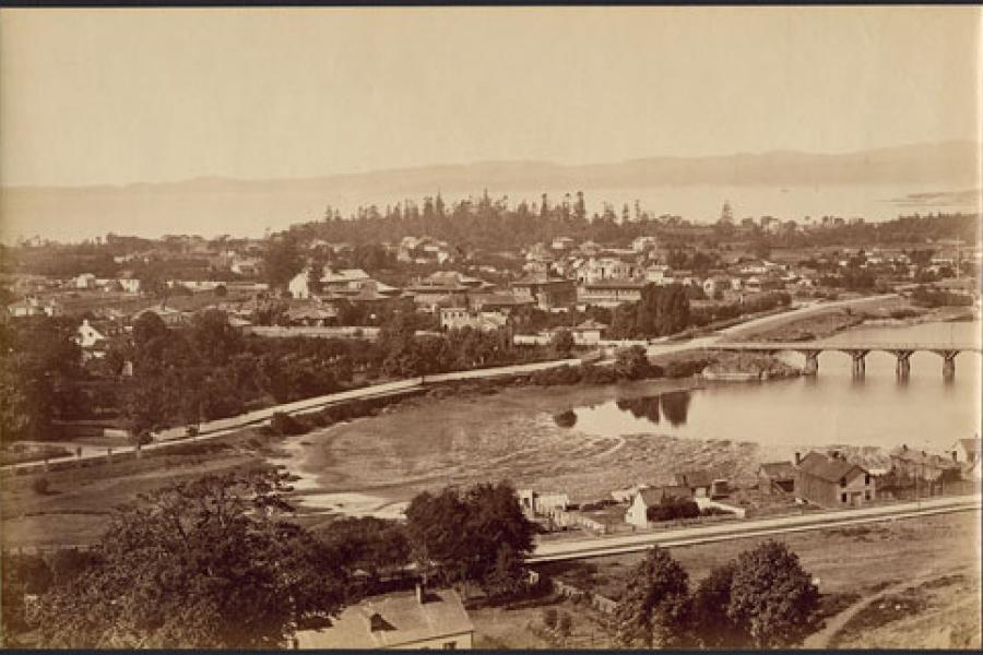 Panorama of Victoria, 1880s