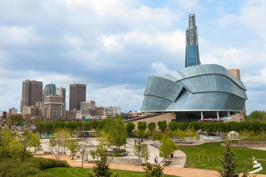 The Canadian Museum of Human Rights (Photo courtesy CMHR)