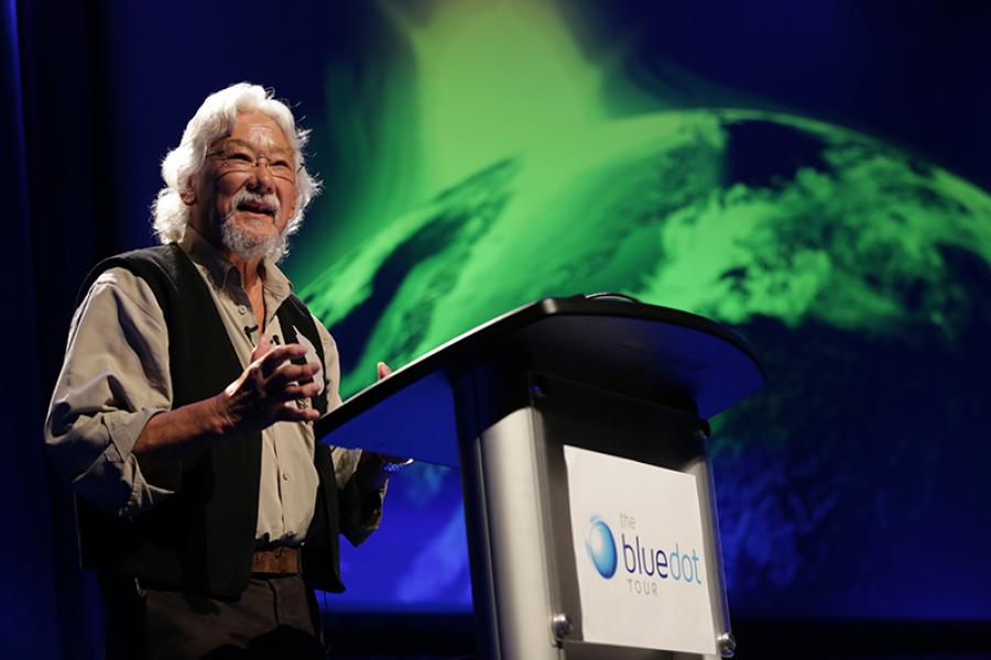 David Suzuki on the Blue Dot Tour, 2014