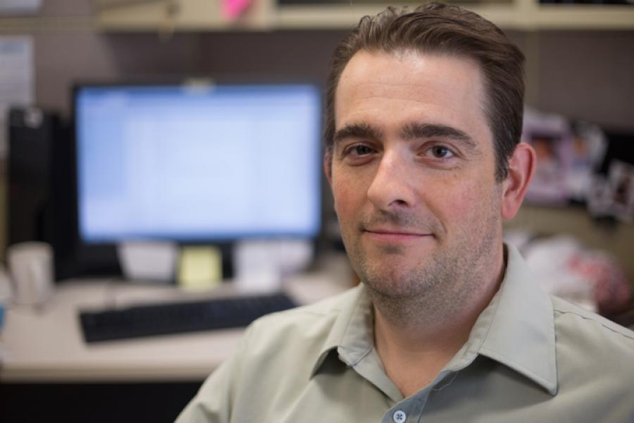 Marine archeologist Ryan Harris
