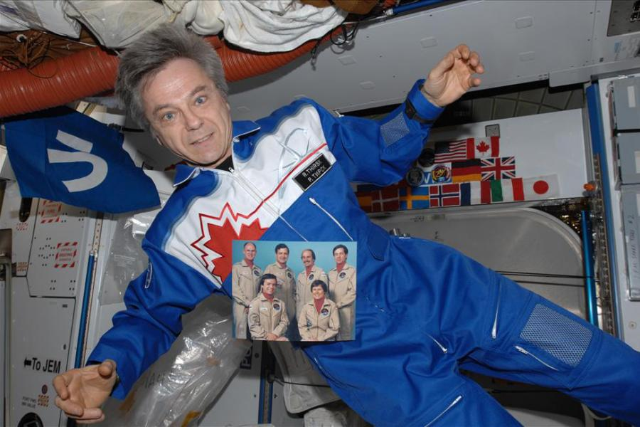 Canadian Space Agency astronaut Robert Thirsk