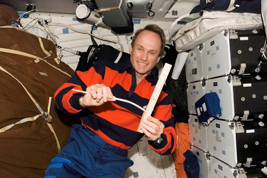 Astronaut Steve MacLean photo