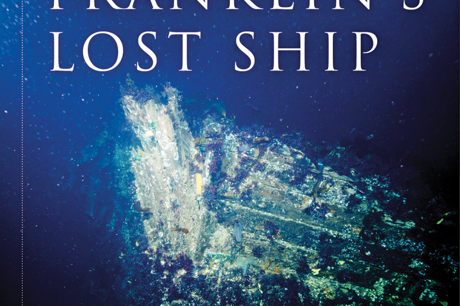 Cover of Franklin's Lost Ship: The Historic Discovery of HMS Erebus