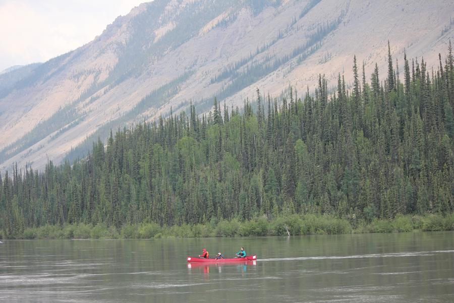 Canoeing in Nahanni National Park Reserve