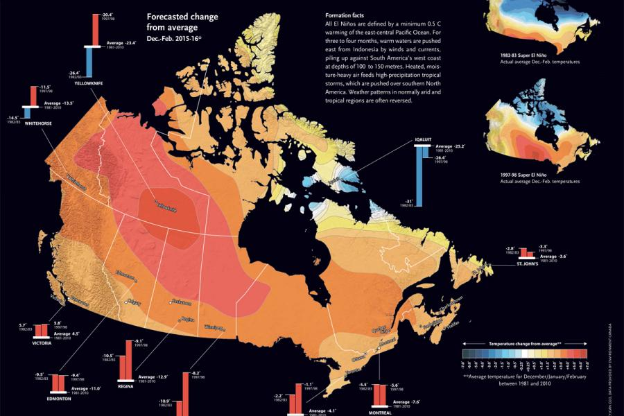 Map: Chris Brackley/Canadian Geographic