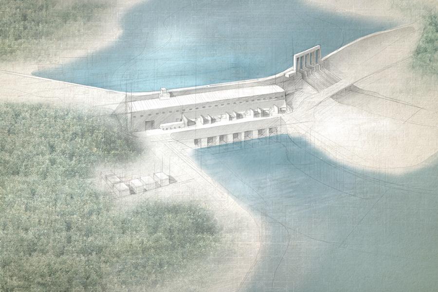 Labrador — Muskrat Falls Hydroelectric generating facility