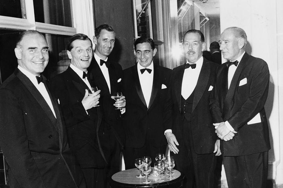 A Canada Club dinner in 1966.