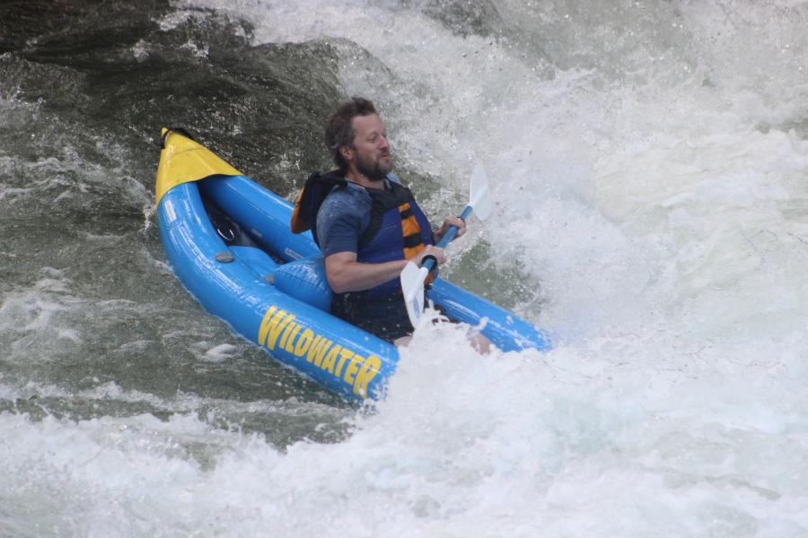 Kayaking the Nantahala River