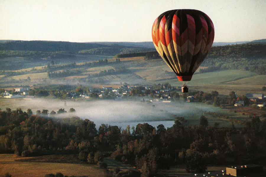 hot air ballooning in sussex
