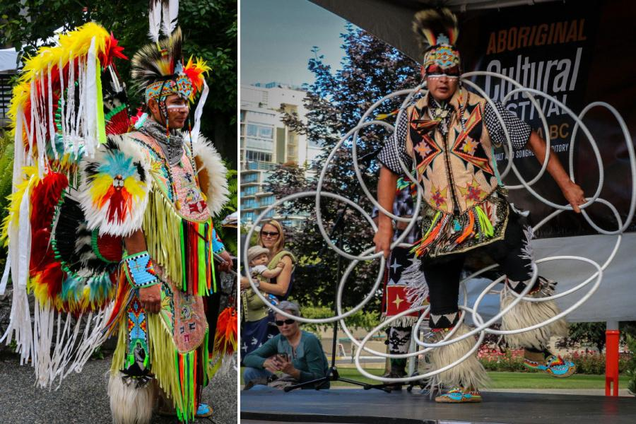 alex wells aboriginal hoop dancer