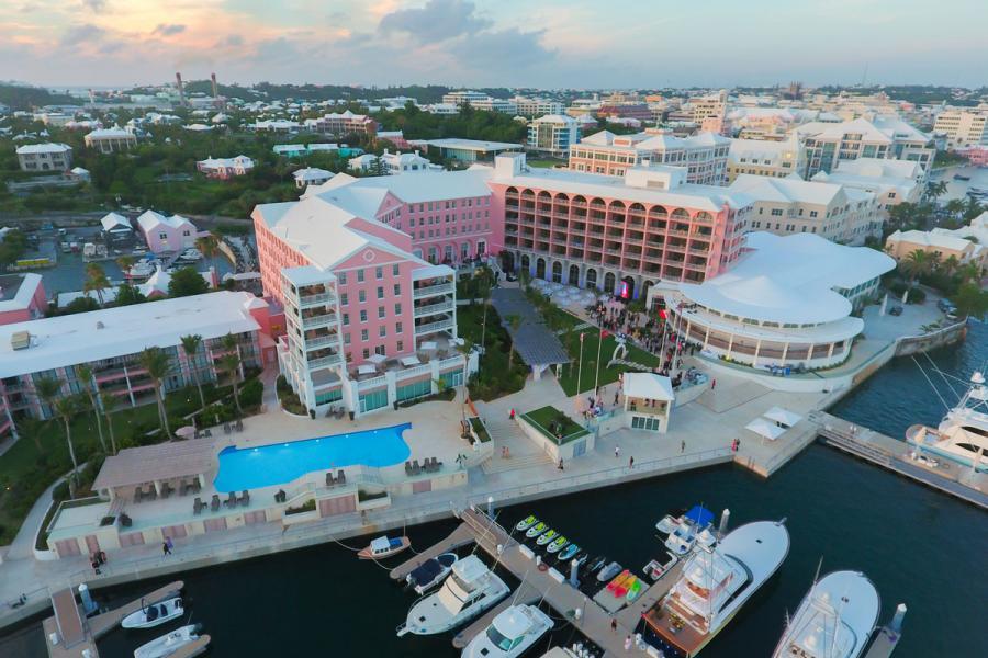 Hamilton Princess Hotel in Bermuda