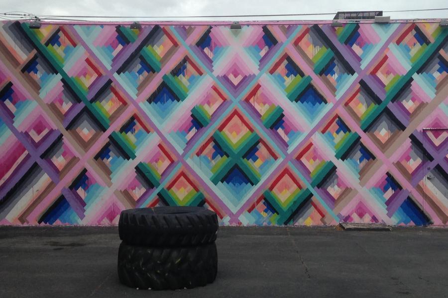 Ryan McGinness 33 women street art