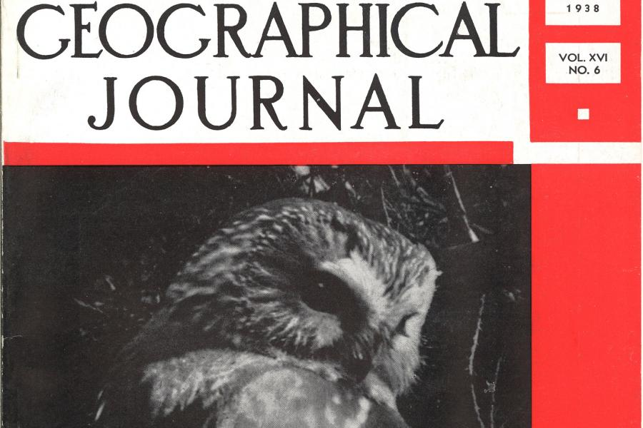 June 1938 cover featuring a saw-whet owl