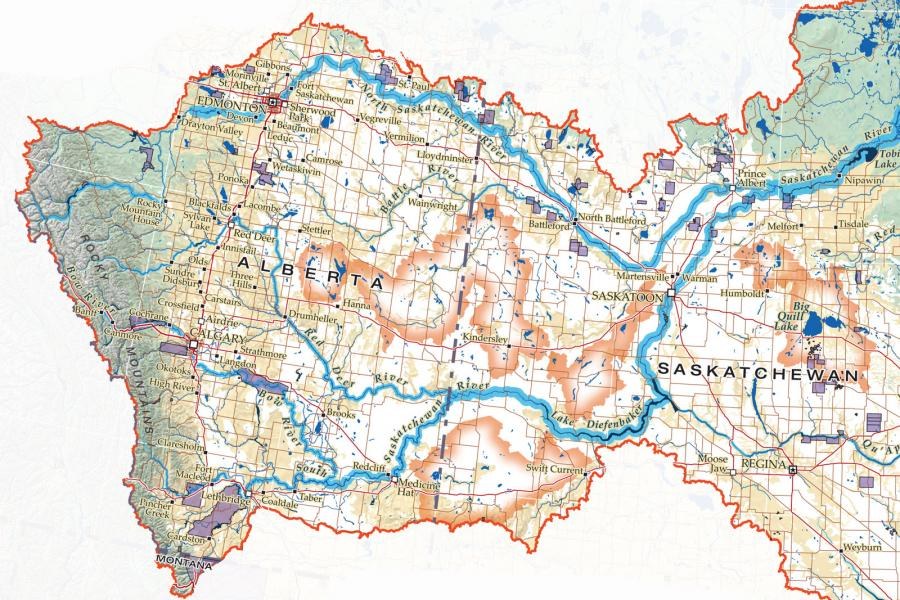 winnipeg watershed map