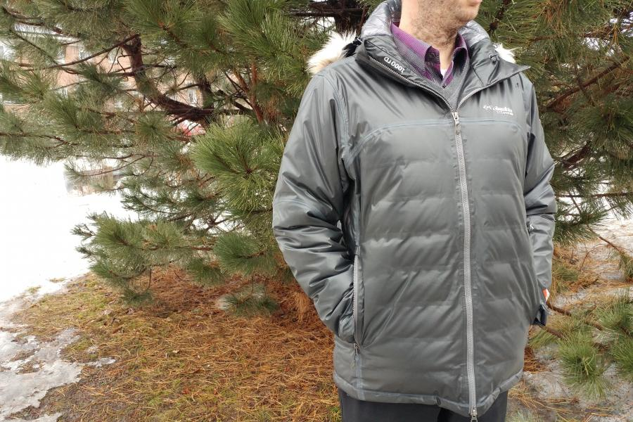 The Columbia Men's OutDry Ex Diamond Heatzone Jacket.