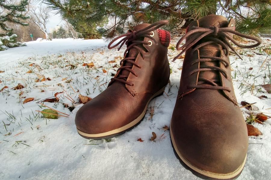 boots leather winter Columbia
