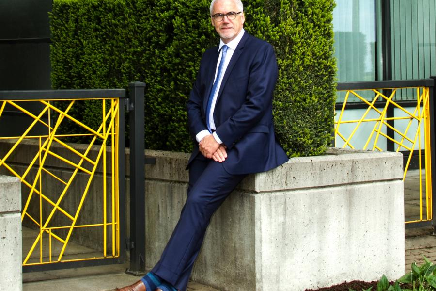 Gordon Harris, UniverCity, sustainable development, burnaby